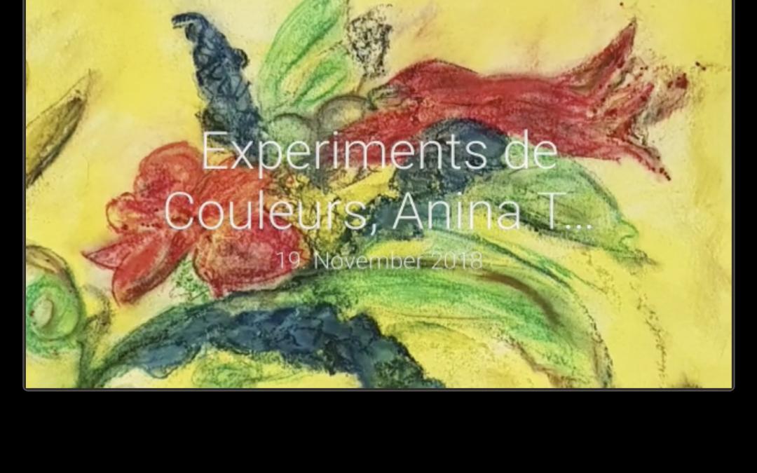 Farbexperimente Anina Toskani