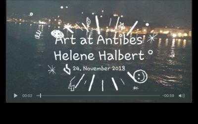 Kunst im Atelier Helene Halbert, Antibes