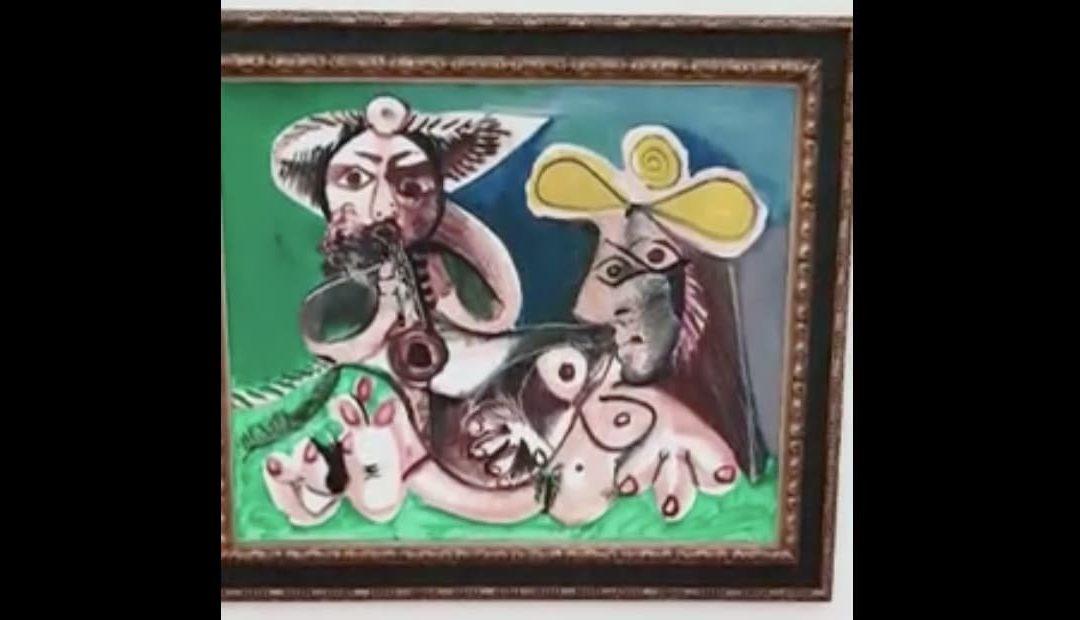 Treffen mit Picasso